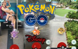Pokémon GO na Disney