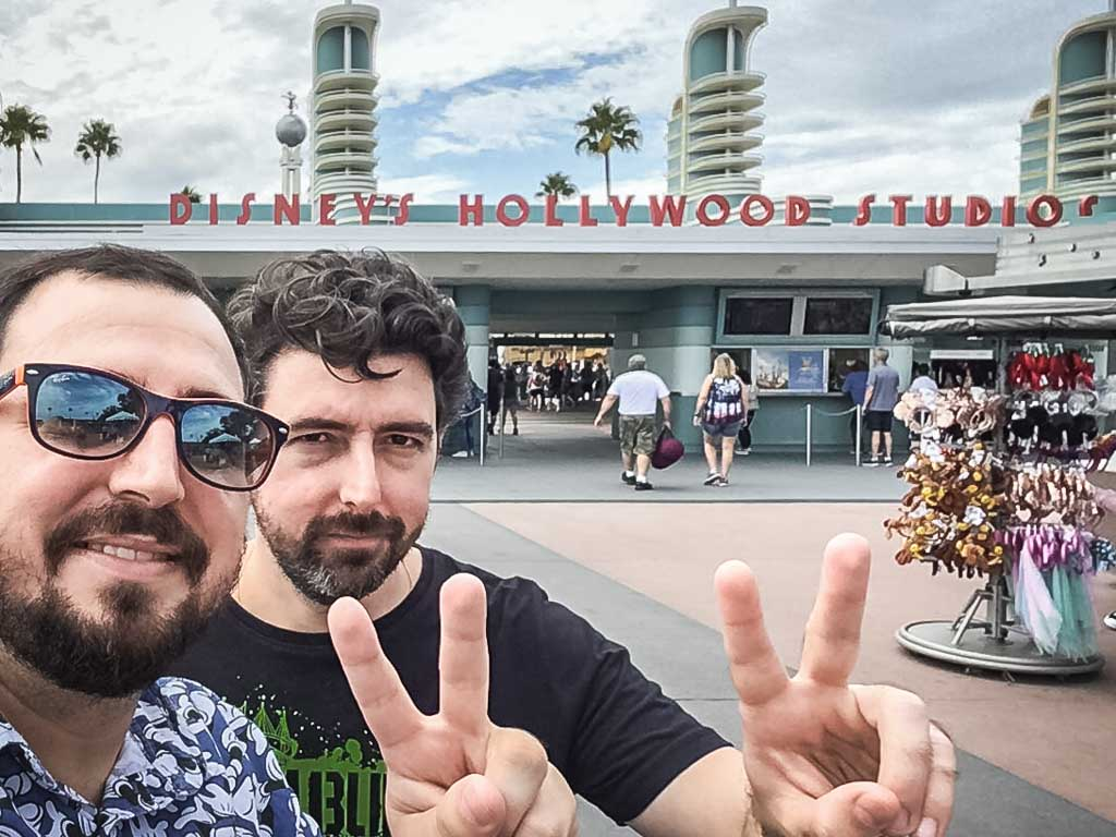 Segunda parada do dia, parque Disney's Hollywood Studios