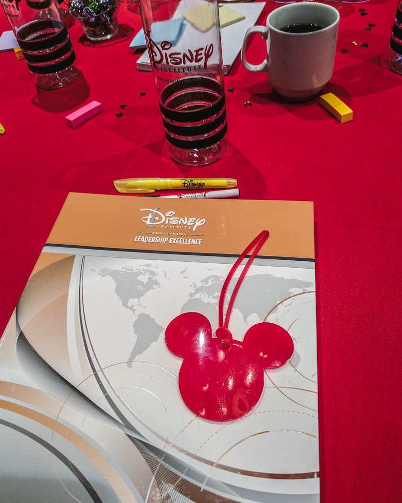 Material do curso do Disney Institute