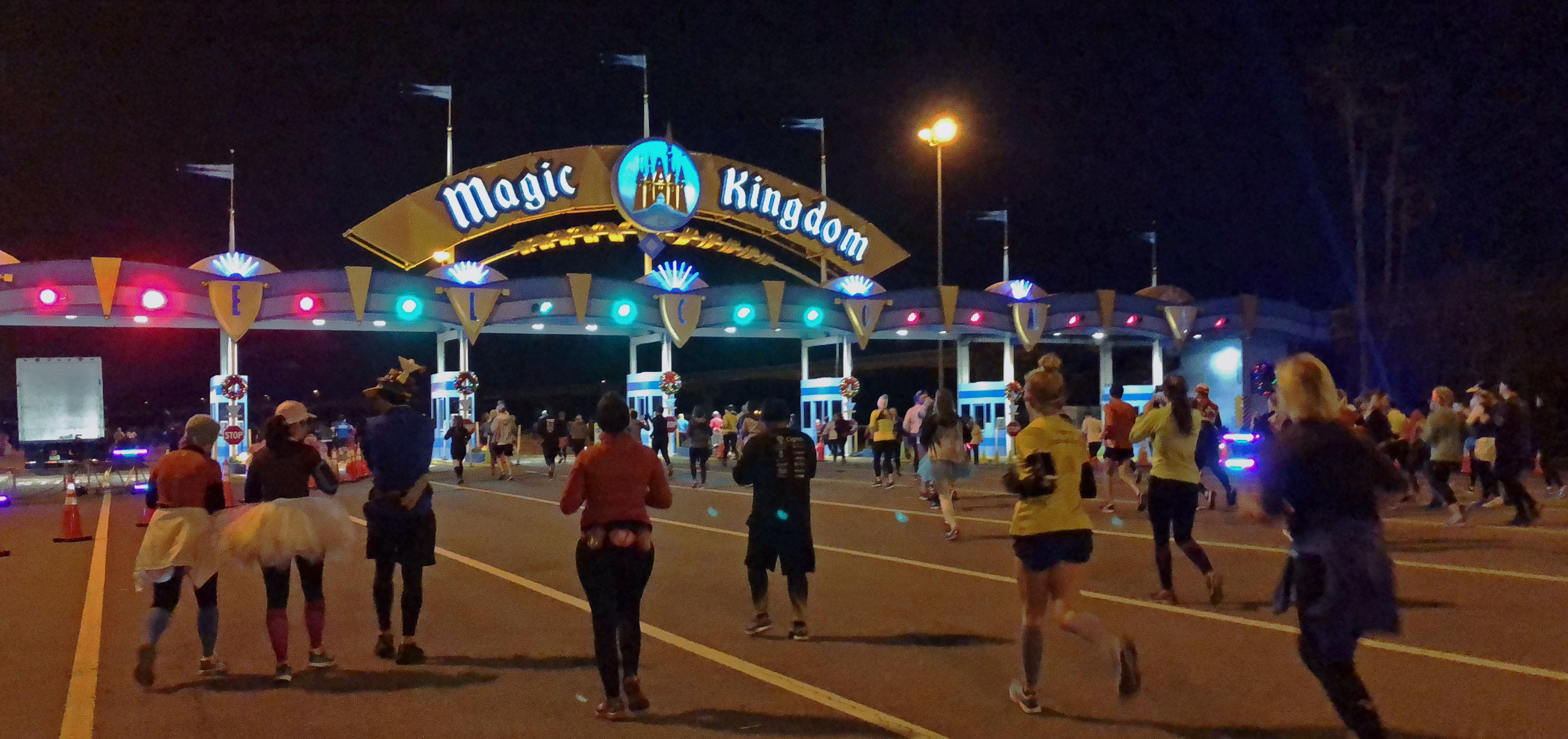 Os eventos de corrida Disney, runDisney