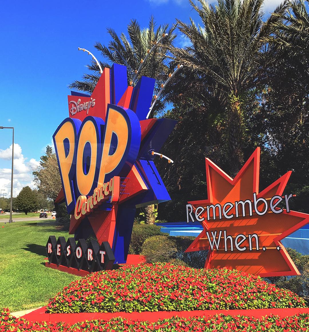 Como é a experiência de se hospedar no hotel Disney's Pop Century Resort