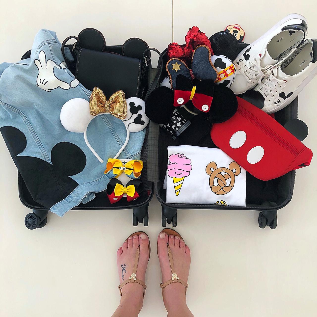 14 dicas para montar sua mala para Disney