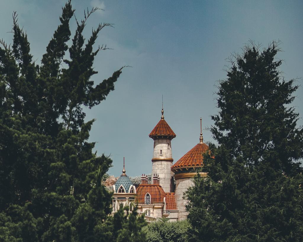 Castelo do Príncipe Erich, na Nova Fantasyland do parque Magic Kingdom