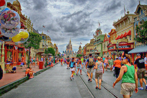 Disney's Magic Kingdom MainStreet USA Erich HDR