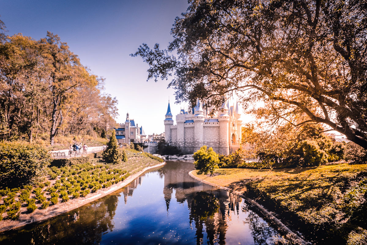 Castelo da Cinderela no parque Disney's Magic Kingdom
