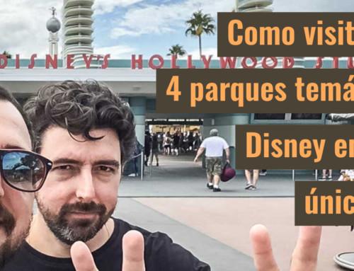 Como visitar os 4 parques temáticos Disney em um único dia