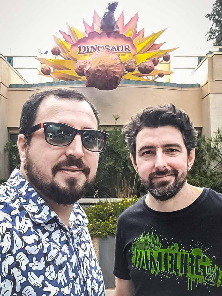 A atração Dinosaur, no parque Disney's Animal Kingdom