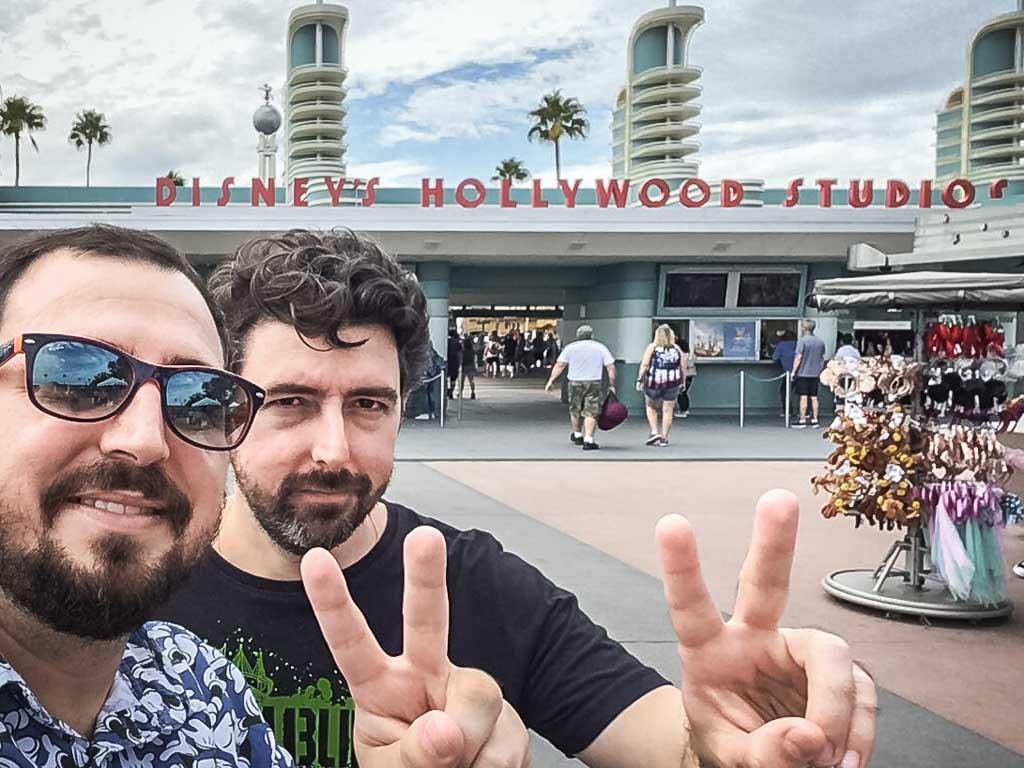 Segunda parada do dia, parque Disney's Hollywood Studios