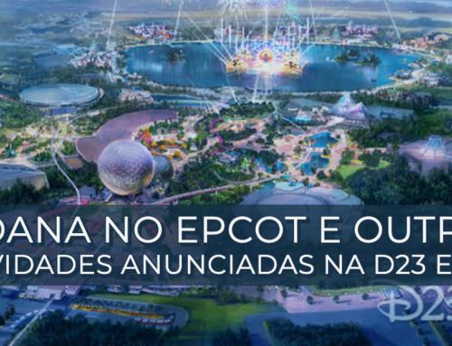 Moana no Epcot e outras novidades anunciadas na D23 Expo
